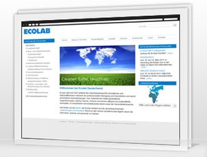 Screenshot Ecolab Webserver