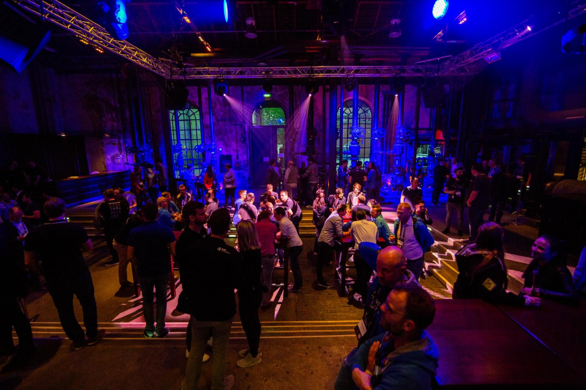 Aftershow-Networking beim Shopware Community Day 2018
