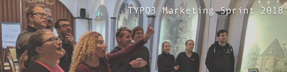 Titelbild TYPO3 Marketing Sprint 2018