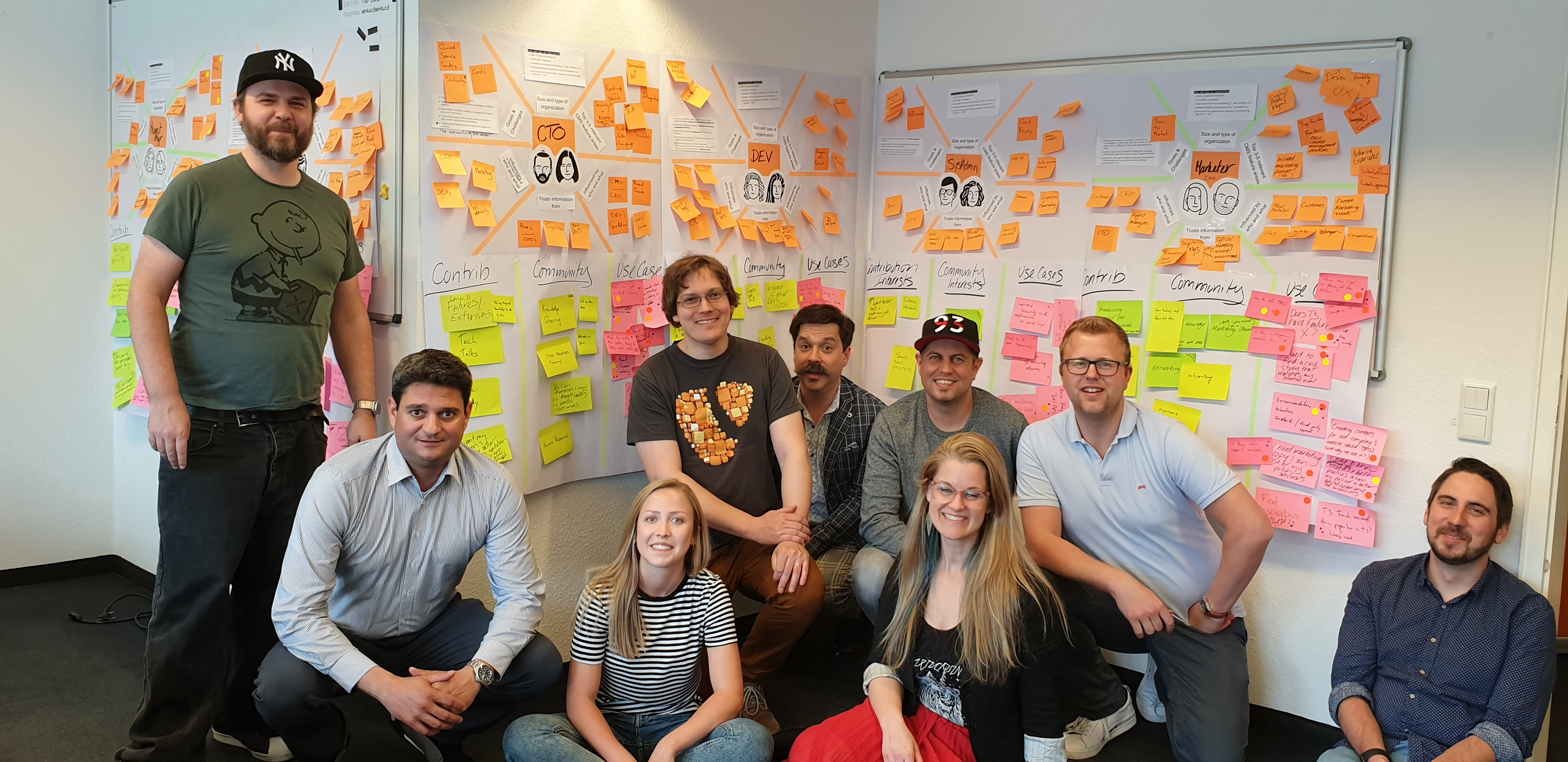 Gruppenfoto TYPO3 Marketing Sprint 2019